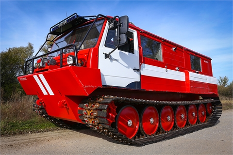 All terrain tracked vehicle - Amphibious