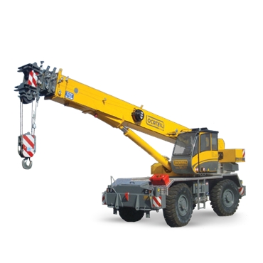Self-propelled crane - 45 tons