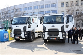 Avto Engineering Holding Group has delivered two new Waste collection vehicles for Vidin Municipality